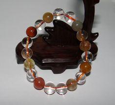 "0.4"" China Certified Nature Crystal Women's Fukurokuju Pearls Bangle Bracelets #JennysJade Bangle Bracelets, Bangles, Jewelry Watches, Fashion Jewelry, China, Pearls, Crystals, Nature, Leather"