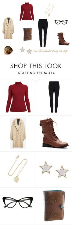 """""""Genderbent Gravity Falls: Older Fem Ford"""" by sweetumkitty ❤ liked on Polyvore featuring Rumour London, Zara, Jennifer Meyer Jewelry and Givenchy"""