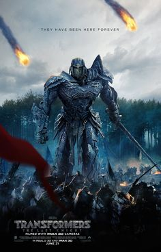 Brand New Poster Revealed For Transformers: The Last Knight - Transformers News - TFW2005