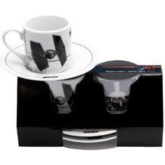 Star Wars Espresso Cup Set - Imperial Domination. In high quality porcelain. Espresso capacity (85ml)