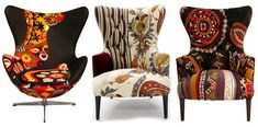 Distinguished Color Palette Adorning the Xalcharo Chair Collection: