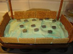 Horn Craft Walls Of Jericho   Walls of Jericho Cake Joshua And The Battle Of Jericho Snack