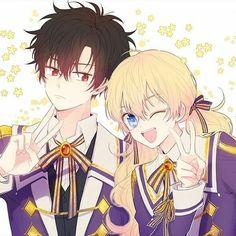 Anime Couples Manga, Cute Anime Couples, Manga Anime, Anime Art, Blonde Anime Girl, Anime Love Couple, Manhwa Manga, Dark Anime, Anime Outfits