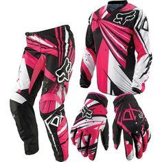 New pink dirt bike fox racing 23 ideas Pink Dirt Bike, Dirt Bike Gear, Dirt Bike Racing, Dirt Biking, Atv Gear, Gear 3, Auto Racing, Atv Motocross, Motocross Girls