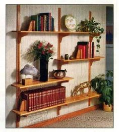 WoodArchivist is a Woodworking resource site which focuses on Woodworking Projects, Plans, Tips, Jigs, Tools Wall Shelves, Shelving, Woodworking Plans, Woodworking Projects, Home Projects, Projects To Try, Shelf Design, Wood Pallets, Wood Furniture