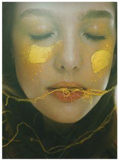 Bloom magazine - Yellow smudge