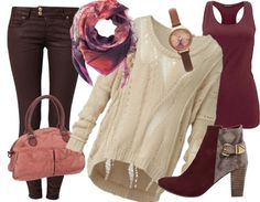 Herbst Outfit - Freizeitoutfit - stylefruits.de