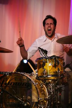 """The photo """"Ronnie Vannucci"""" has been viewed 40 times. Great Bands, Cool Bands, Brandon Flowers, Classic Songs, Foo Fighters, Press Photo, Drummers, Rock Candy, Inspiring People"""