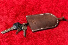 Leather key holder Key case Leather от LeatherWorldHandmade