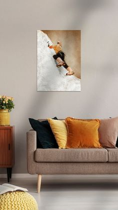Love Seat, Couch, Canvas, Sport, Furniture, Home Decor, Products, Mountain Climbing, Climbing
