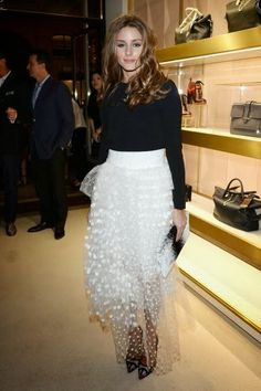 THE OLIVIA PALERMO LOOKBOOK: Olivia Palermo and Johannes Huebl at Chloe Attitudes' Book Launch in Paris