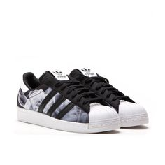 "Adidas x Rita Ora Superstar 80's W ""White Smoke Pack"" (Core Black / Off White)"
