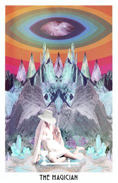 The Magician ©Danielle Noel  The Starchild Tarot
