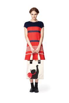 An easy, simple t-shirt-like dress. Very cool. $35