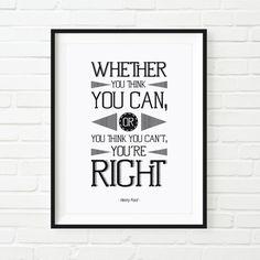 Frase emblemática y motivadora de Henry Ford. - Diseñado desde cero y por encargo. - Impreso en papel de la mas alta calidad. FEDRIGONI