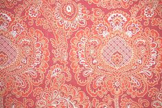 1970's Retro Wallpaper – Vintage Amazing Red Paisley pattern on Etsy, $16.00