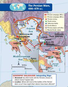 The Persian Wars, 490-479. B.C.