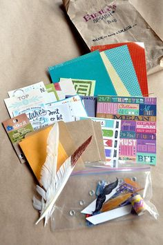 smash book birthday party - love this idea for girls night, or for YW!
