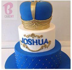 King theme Prince Cake, Prince Party, Royal Prince, King Birthday, 1st Boy Birthday, Birthday Cake, Baby Shower Themes, Baby Boy Shower, 1st Birthday Chalkboard