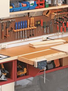 One Wall Workshop Woodworking Plan