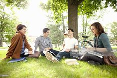 View top-quality stock photos of Students Studying In Grass At Park. Find premium, high-resolution stock photography at Getty Images. Student Photo, Work Bags, Student Studying, St Thomas, Marketing, Countries Of The World, People Around The World, Orange County, Royalty Free Images