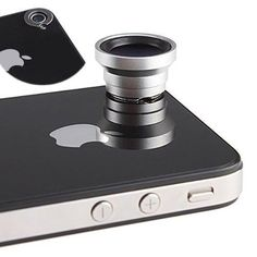 Magnetic 0.67X Wide Angle / Macro Lens Designed for Apple iPhone 4 iPhone 4S iPod Nano 5 iPad - http://coolgadgetsmarket.com/magnetic-0-67x-wide-angle-macro-lens-designed-for-apple-iphone-4-iphone-4s-ipod-nano-5-ipad/