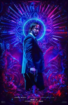 Keanu Reeves in John Wick: Chapter 3 - Parabellum John Wick Film, Watch John Wick, Film John, Keanu Reeves, Anna Film, Film D'action, Drama Film, Kunst Poster, San Andreas