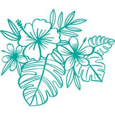 Welcome to the Silhouette Design Store, your source for craft machine cut files, fonts, SVGs, and other digital content for use with the Silhouette CAMEO® and other electronic cutting machines. Silhouette Design, Silhouette Curio, Silhouette Cameo Projects, Vinyl Crafts, Vinyl Projects, Kirigami, Tropical Design, Tropical Plants, Tropical Flowers