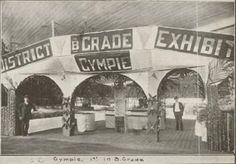 21 August 1915 Brisbane Exhibition, Gympie exhibit, 1st in B Grade.