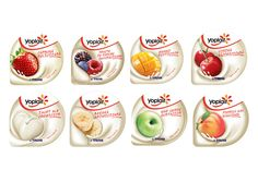 Yoplait Tnuva Romania on Packaging of the World - Creative Package Design Gallery