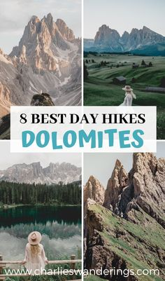 Are you looking for the best hikes in the Dolomites that you can do in just 1 day? Well you've come to the right address! Dolomites best places, South Tyrol, south tyrol dolomites, dolomites hiking, dolomites things to do, dolomites photography, dolomites best mountains, italy travel guide, dolomites travel guide, south tyrol travel guide, italy aesthetic, italy best places #dolomites #italy Italy Travel Tips, Europe Travel Guide, Travel Guides, Italy Destinations, Road Trip, Things To Do In Italy, Best Hikes, Day Hike, Adventure Travel