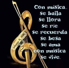 Dance Music, My Music, Phrases About Life, Latinas Quotes, Positive Phrases, Spiritual Messages, Spanish Quotes, Romantic Quotes, Music Notes