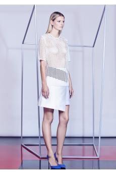 The Spade Lace Tee and Tactician Skirt from the SS14 collection by CAMILLA AND MARC.