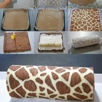 Heerlijke cake rol een feestje op ieder feest!