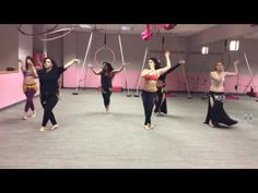Romantic Belly Dance Choreography: A'aref by Haifa Wehbe - YouTube