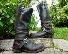 Mad Max The Road Warrior Chippewa US Made Tall by CoralLaceVintage, $289.00