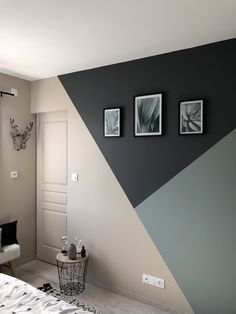 45 Amazing Geometric Wall Art Paint Design Ideas To Inspire You 45 Amazing Geome. - 45 Amazing Geometric Wall Art Paint Design Ideas To Inspire You 45 Amazing Geome… - Geometric Wall Paint, Geometric Shapes, Modern Wall Paint, Geometric Decor, Geometric Patterns, Room Wall Painting, Wall Art, Creative Wall Painting, Interior Wall Paintings
