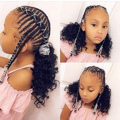 Top 60 All the Rage Looks with Long Box Braids - Hairstyles Trends Box Braids Hairstyles, Lil Girl Hairstyles, Black Kids Hairstyles, Girls Natural Hairstyles, Kids Braided Hairstyles, My Hairstyle, Updo, Natural Hair Styles, Hairstyles For Children