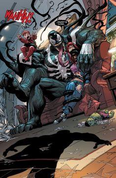 The Amazing Spider-Man - Renew Your Vows interior art - Venom and Mary Jane by Adam Kubert *