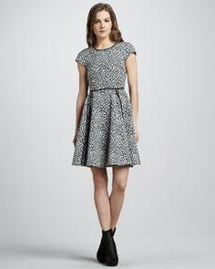 Rachel Zoe Iryna Printed Dress