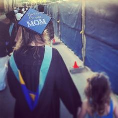 Decorated Grad Caps from Tasseltoppers.com #decorateyourgradcap #graduation