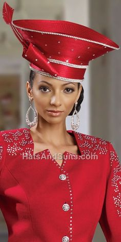 Image detail for -home new arrivals donna vinci couture church hat h2051  Red Hat Society a990a7a7c7e9
