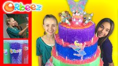 Giant Orbeez Crush Cake - Featuring the Orbeez Girls   Official Orbeez