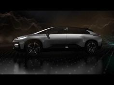 CES 2017: faraday future unveils the all-electric FF 91supercar