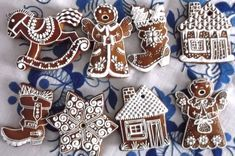 Cookies, Fimo, Crack Crackers, Cookie Recipes, Biscotti, Fortune Cookie, Cakes