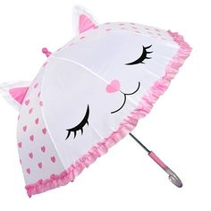 umbrella Umbrellas Parasols, White Kittens, Heart Print, Our Girl, Cleaning Wipes, Great Gifts, Cute, Pink, Amazing Gifts