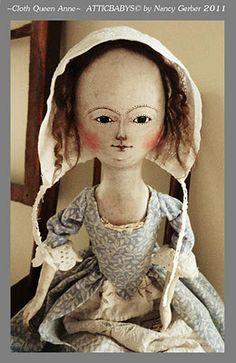 cloth Queen Anne by Atticbabys