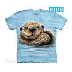 The Mountain Otter Totem Kids T-Shirt