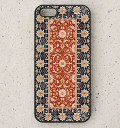iphone 4, 4S or 5 case - Galaxy S3 or S4 - Little Trees - William Morris - smartphone - Mobile - Art - Design - Vintage - Arts and Crafts