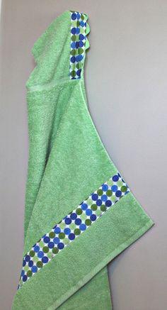 DIY Hooded Towel : DIY Hooded towels